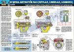 Гідравлічний підсилювач рульового керування автобуса ЛАЗ (ZF Servocom) (код 0111-09 LAZ)