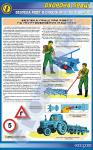 """Плакат """"Безпека праці при роботі на грунтообробних машинах"""" 1140502"""