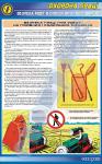 """Плакат """"Безпека праці при роботі на посівних і садильних машинах"""" 1140503"""
