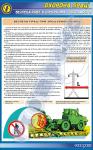 """Плакат """"Безпека праці при зрошуванні посівів"""" 1140507"""