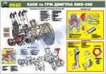 КШМ та ГРМ двигуна ЯМЗ-238 (4516107)
