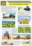 Плакат «Робота з навісними машинами та знаряддям» 1140402