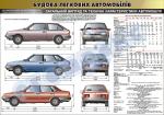 """Плакат """"Загальний вигляд та технічні характеристики автомобіля""""(код 45101В01)"""