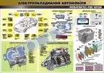 """Плакат """"Електрообладнання автомобіля"""" 45101Е01"""