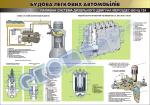 """Плакат """"Паливна система дизельного двигуна Мерседес-бенц 124"""" 45101E07"""