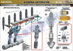 """Плакат """"Вузли та механізми паливної системи ДКР-лист1"""" (код 4510305)"""