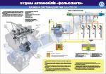 "Плакат ""Паливна система двигуна 1,6 л TDI"" (Гольф)"