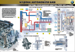 "Плакат ""Система охолодження двигуна (типу №52 мод.Е39)"