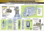 "Плакат ""Паливна система дизельного двигуна автомобіля Мерседес-Бенц 124"""