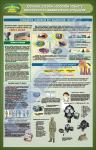 """Плакат """"Основні способи і засоби захисту населення в надзвичайних ситуаціях"""" (код 4520107)"""