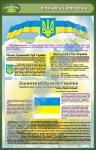 """Плакат """"Державна символіка"""" (код 4520109)"""
