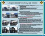 """Плакат """"Заходи безпеки при експлуатації техніки"""" код  4530201"""