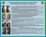 """Плакат """"Заходи безпеки при користуванні ПММ і отруйними технічними рідинами"""" код 4530203"""