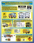 """Плакат """"Правила установлення (нанесення) номерних та розпізнавальних знаків на транспортні засоби збройних сил України"""" код 4530302"""