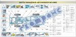 """Плакат """"Карта змащення автомобіля УАЗ-3962"""" 453030310"""