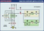 """Плакат """"Схема пуску асинхронного двигуна з КЗ ротором""""4600406"""