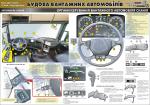 """Плакат """"Органи керування вантажного автомобіля"""" (код 4510203)"""
