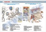 Плакат «Кривошипно-шатунний механізм та блок циліндрів»(код 4510605)
