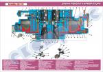 """Плакат """"Схема роботи карбюратора"""""""