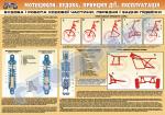 Плакат «Будова і робота ходової частини.Передня і задняя підвіски» (код 4510510)