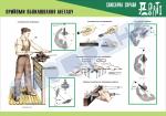 Плакат «Прийоми обпилювання металу»4820109