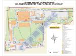 Схема руху автотранспорту по території підприємства (приклад 1)