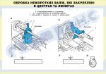 Плакат «Обробка нежорстких валів, які закріплені в центрах та люнетах» 4820410