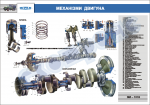 "Плакат ""Механізми двигуна"""