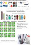 комплект знаків,світлофорів,регулювальників для магнітної дошки